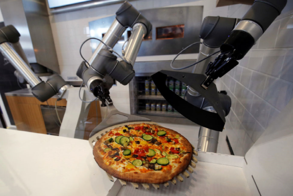 Robots will distribute food at 100 US universities